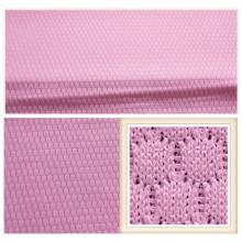 Tissu de maille de polyester / tissu de maille en gros / tissu de maille de tricot
