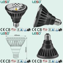 10W / 12ww 2000k 3D ÉPI LED PAR30 Spot LED