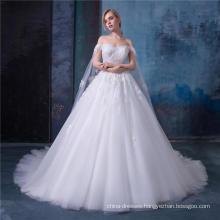 High quality wedding dress bridal gown 2018 zhongshan wedding dress