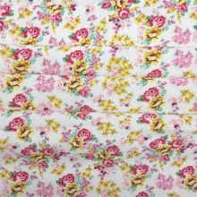 Viscose Rayon Fabric Daisy Floral Printed Fabric