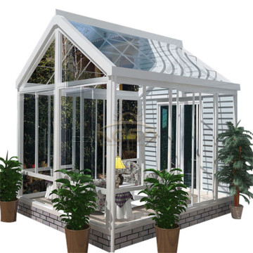 Veranda Sunroom Portable Glass House av aluminiumsrom