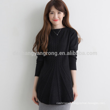 hot selling comfortable cashmere 12GG knitted couple sweater