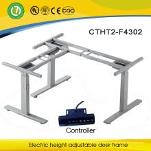 Форма L или 3 ноги электрическая регулируемая каркас стола для офиса и конференц-стол