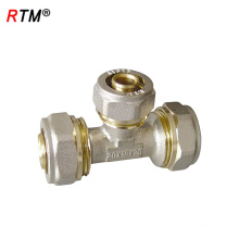 L 17 4 8 compression tee fittings brass compression fittings pipe fitting