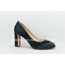 Sexy Comfort Red Heels Leather Women′s Shoes