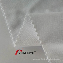 320cm White Polyester Tricot Stretch Fabric for Sublimation Print
