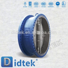 Didtek API Válvula de retención de chapa de doble placa estándar