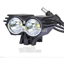 Brilho super CREE XM-L2 luz da bicicleta Hid Lanterna
