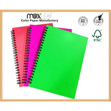 China School Suppliers para A4 PP Spiral Notebook Office Promotion Gift