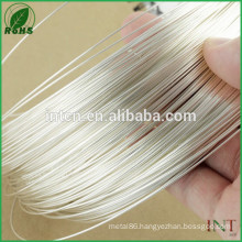 free shipping silver wire