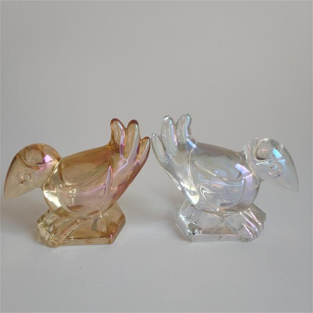 Br H 1180bird Shape Crystal Glass Decoration