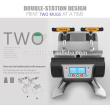 Máquina automática de la impresión de la taza de la Sublimación de la Dos-estación