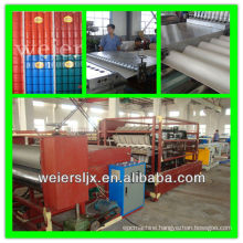 color coated pvc composite roofing sheet making machine