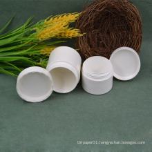 50g 100g  disposable compostable Pla cosmetic jar wholesales