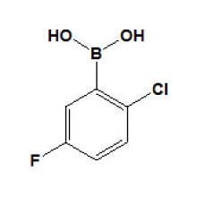 2-Хлор-5-фторбензолбороновые кислоты № 444666-39-1