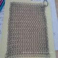 Food grade 304 stainless steel chainmail scrubber cleaner