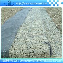 Gabion Wire Mesh utilisé pour renforcer la structure du sol