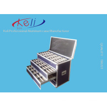 2016 Newest Drawer Flight Case and Aluminum Road Drawer Flight Case/Free Custom (KeLi-Drawer-1003)