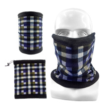 New Style Custom Design Multifunctional Winter Polyester Face Mask Neck Warmer Scarf