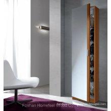 Tall Slim Shoe Storage Cabinet Full Length Mirror Door (HF-EY0825)