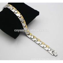 18k vergoldet ION Armbänder Gesunde Balance Power Armbänder