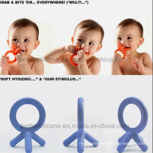 100% Eco-Friendly LSR Silicone Rubber Baby Teether Toys