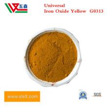 Inorganic Powder Pigment G0313 Ferric Iron Oxide Yellow for Rubber Coating, Micronized Iron