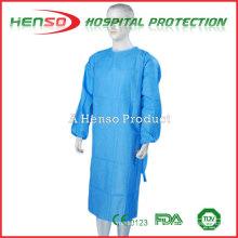 Vestido de isolamento isento de tecido medicinal HENSO