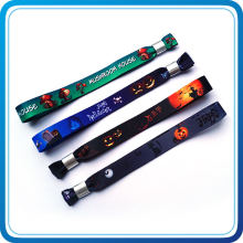Party Dekoration Halloween Wärme Transfer Print Stoff Armband
