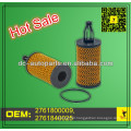 Oil/Lube Filter element 2761800009,2761840025 Fits Mercedes Benz C300/C350/CL550/E350/E550/GL450