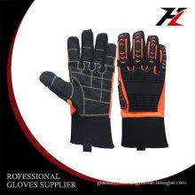 La fábrica de la alta calidad impactan directamente los guantes de cuero del trabajo