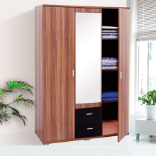 Cheap Wooden 3 Door Bedroom Wardrobe