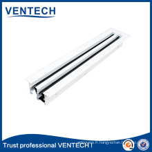HOTSALE Air slot register hvac linear slot diffuser for ventilation diffuser hvac type