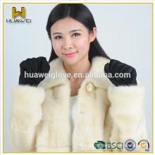 Großhandel billig Schweinehaut Handschuhe Frauen Wildleder Leder Handschuhe