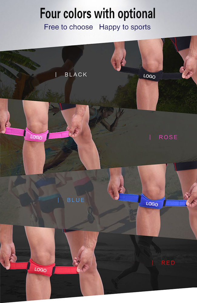 4 colors knee strap