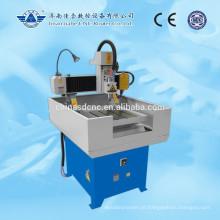 Mini venda quente JK-4040 CNC fresadora com corpo de máquina do ferro de molde inteiro