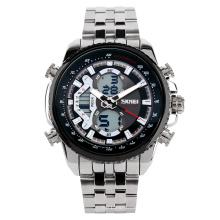 Digital stainless steel wrist watch for men business watch