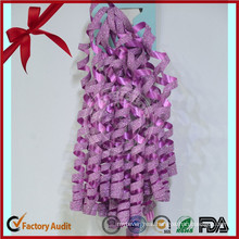 Set Iridescent Curling Bows for Decorative