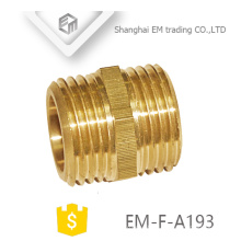 EM-F-A193 NPT double male thread adapter pipe fitting