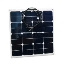 Hohe Leistungsfähigkeit 50W Flexible Solar Panel China Hersteller