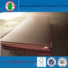 18mm Full Sizes Shuttering Concrete Marine Film Faced Plywood