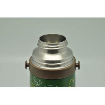 Высокое качество 304 из нержавеющей стали термос двойной стены термос Свф-800e зеленый