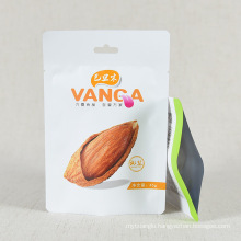 Custom Printed Nut Packaging Zipper Bag Stand up Pouch Plastic Bag Plastic Food Bags Manufacturer