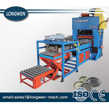 Blechdosen-Kastendeckel / Boden / Kegel / Kuppel, die Maschine automatische CNC-Weißblechblatt-Zuführungsstanze herstellt