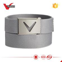 HOT design Solid webbed golf belt