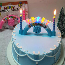 Balloon Music Singing LED Birthday Candle Wholesale