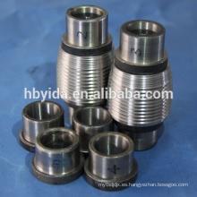 Componentes de precisión mecanizados rosca rueda para barras de refuerzo de acero
