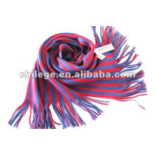 écharpe tricotée écharpe rayée