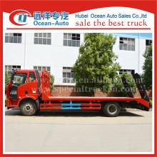 New design cabin diesel engine flatbed trucks for sale