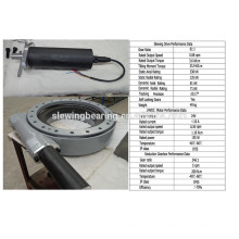 24v dc motor Slewing Drive for tracking